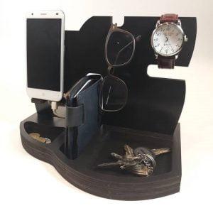Макет органайзера с подставкой для телефона