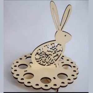 Пасхальная подставка Заяц макет