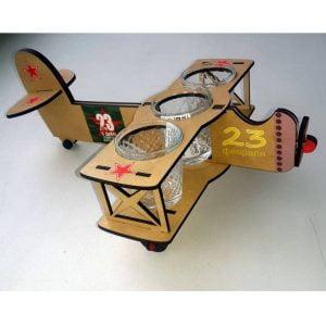 Макет самолёта под стопки