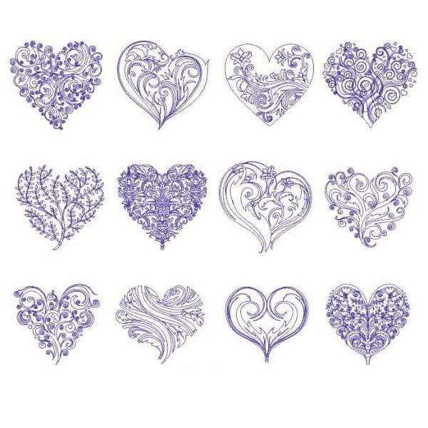 Сердце векторный рисунок