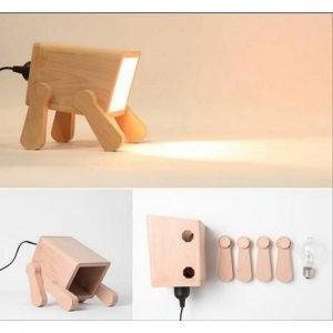 Светильник с лапами макет
