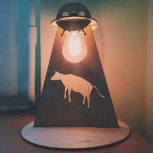 Макет лампы НЛО
