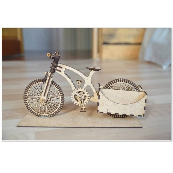 Макет велосипеда органайзера