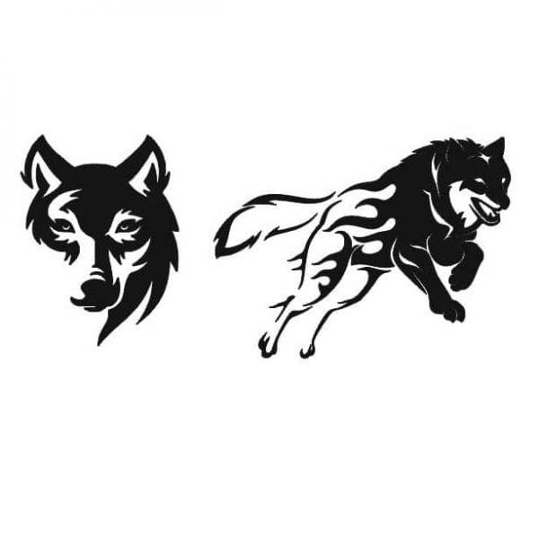 Волк в векторе