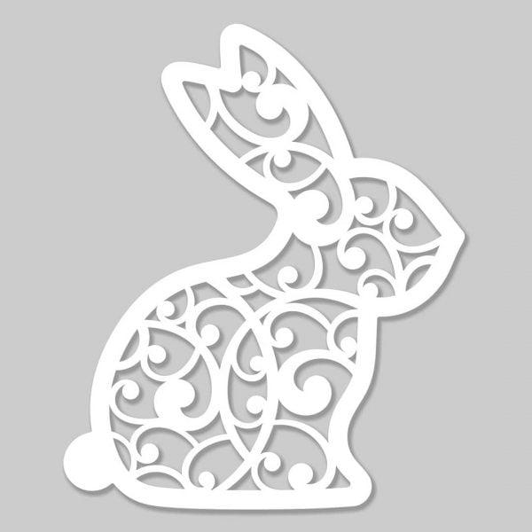 Заготовка заяц макет