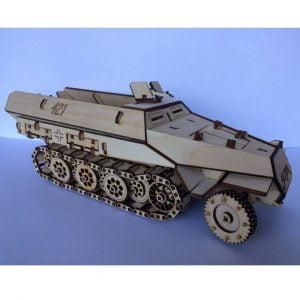Немецкий бронетранспортёр макет