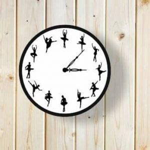 Часы с балеринами