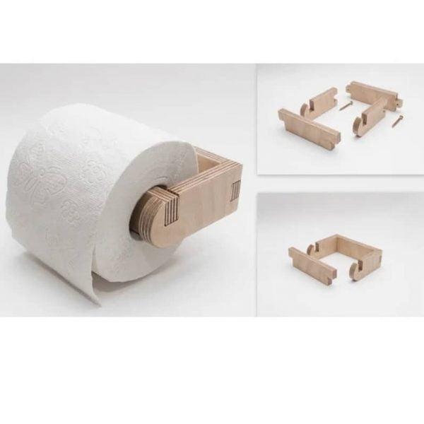 Макет держателя рулона бумаги