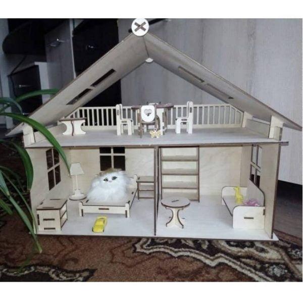 Макет домика для кукол
