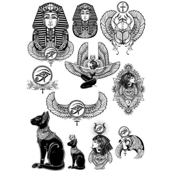 Векторные египетские рисунки