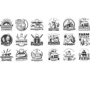 Фермерские логотипы