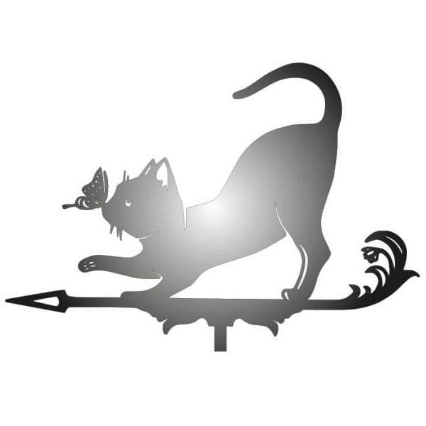 Флюгер кошка макет