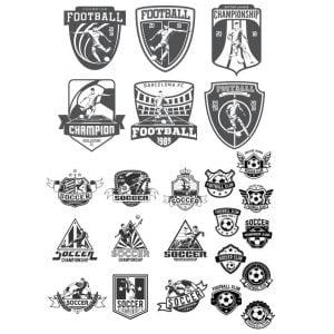 Футбольные логотипы
