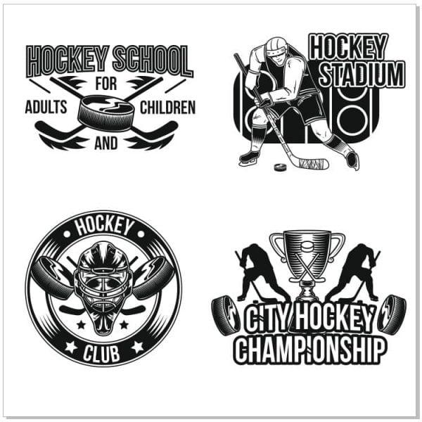 Хоккейные логотипы