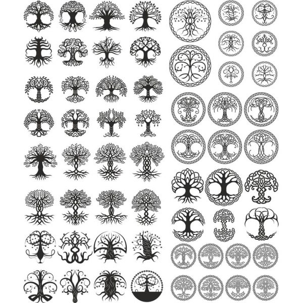 Кельтские деревья