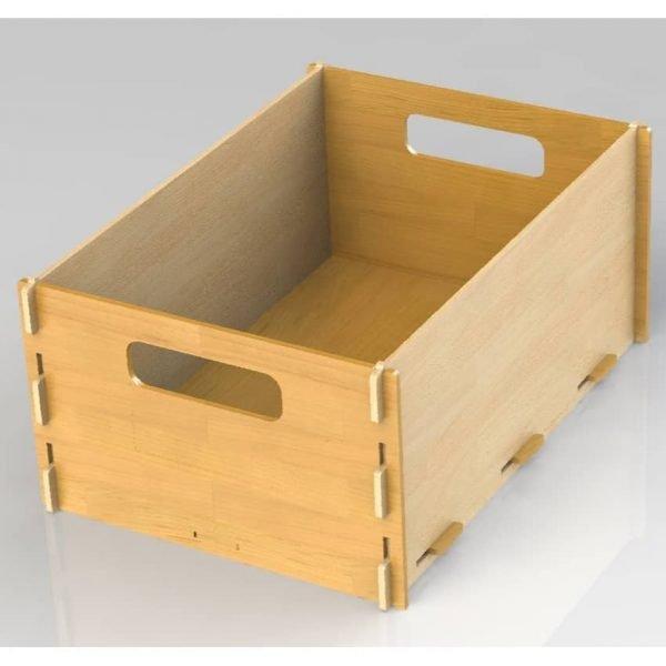 Макет коробки для вещей
