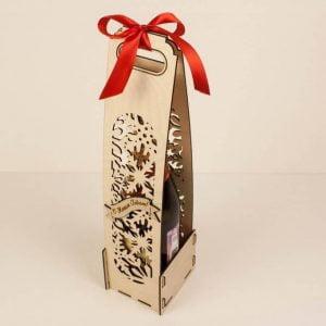 Подарочная коробка под шампанское