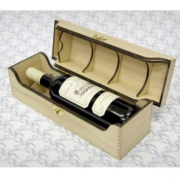 Сувенирная коробка для бутылки