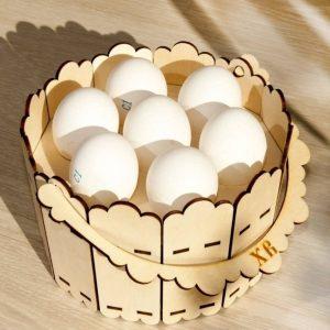 Макет корзинки под яйца