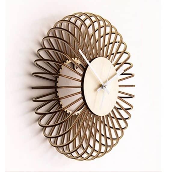 Объёмные круглые часы