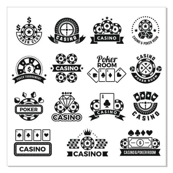 Логотипы казино