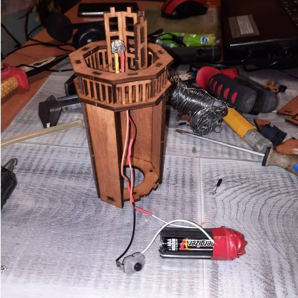 Макет ночника маяк