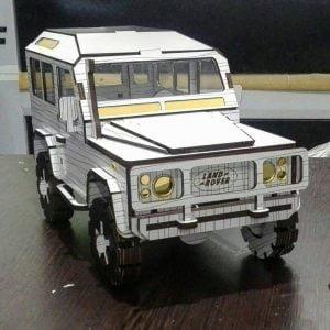 Land Rover макет