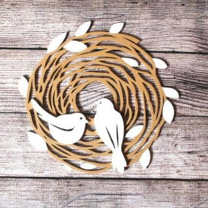 Панно гнездо макет