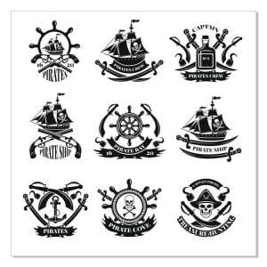 Пиратские логотипы