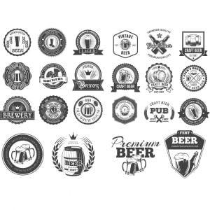Крафтовое пиво логотип