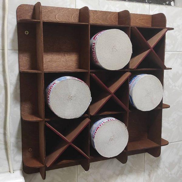 Полка для туалетной бумаги макет