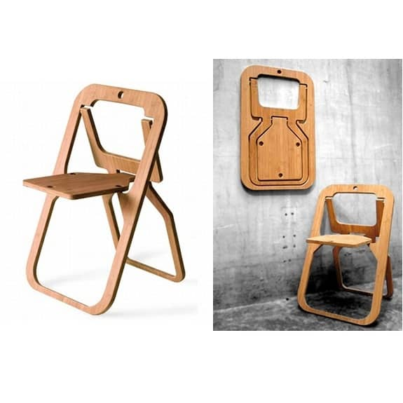 Складной стул макет