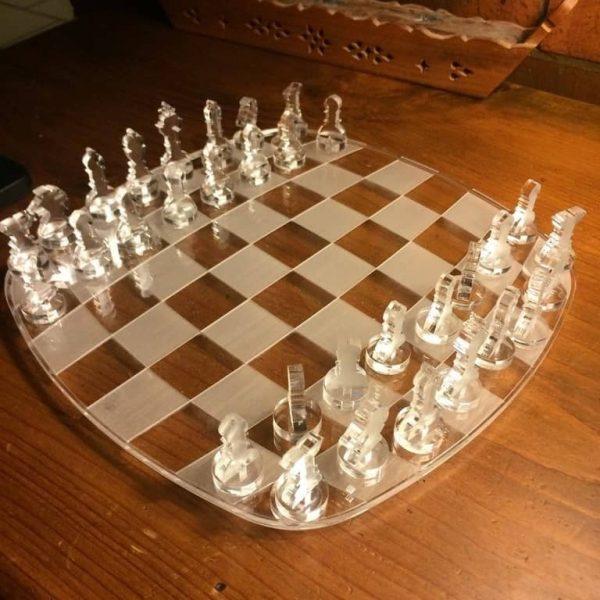 Макет шахмат из акрила