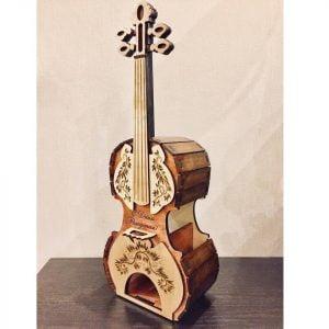 Макет чайной скрипки