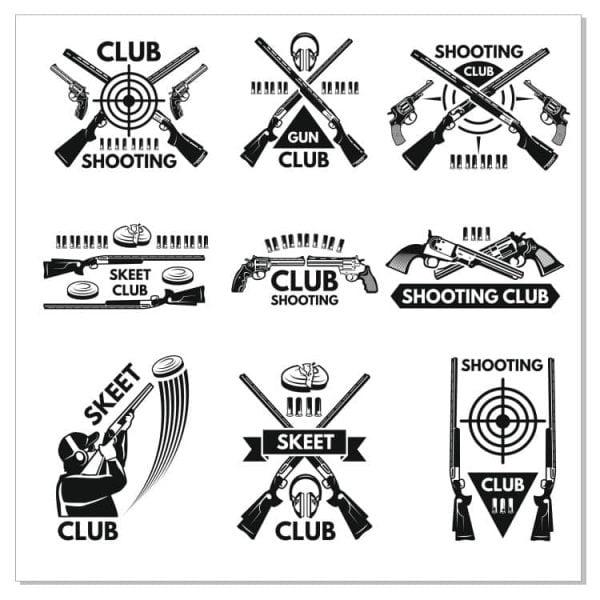 Стрелковые логотипы