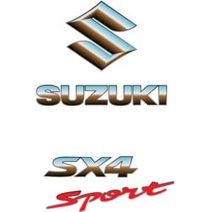 Логотип Suzuki sx4