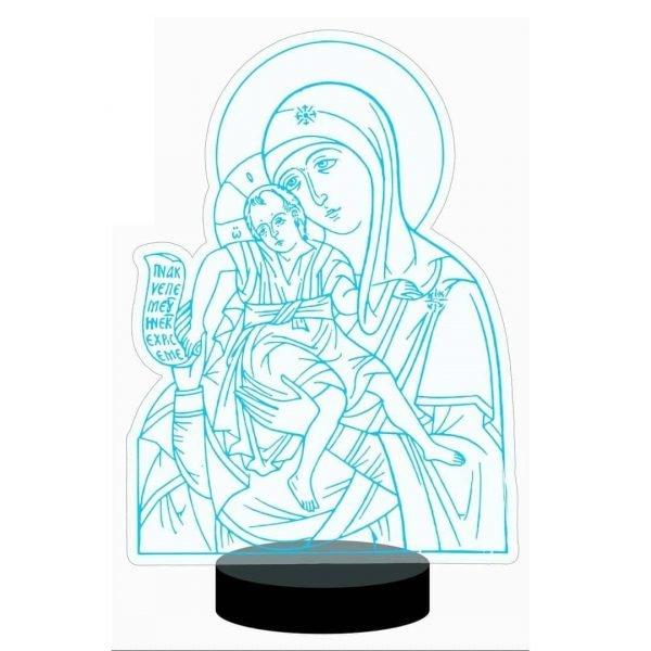 Богородица в векторе