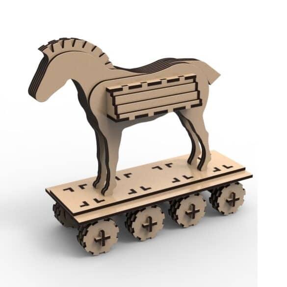 Троянский конь макет