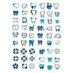 Зубные логотипы