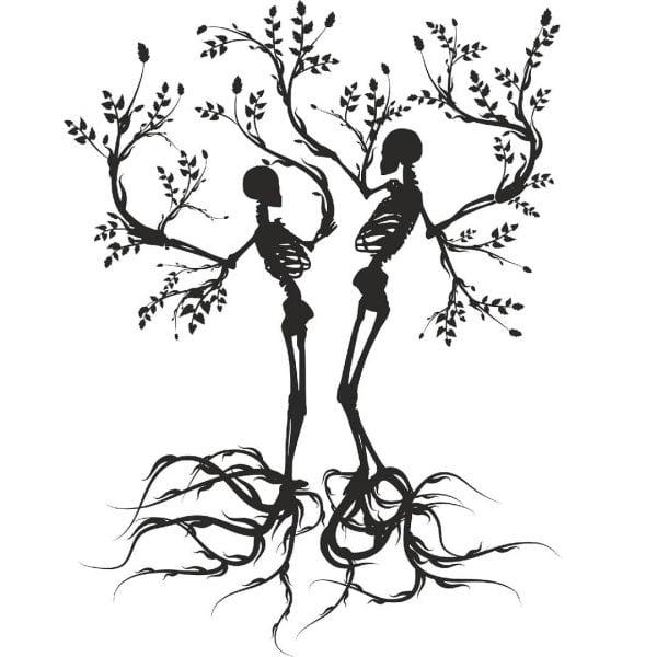 2 скелета в векторе