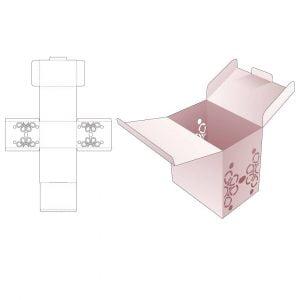 Коробка с 2 крышками