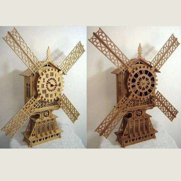 Часы мельница
