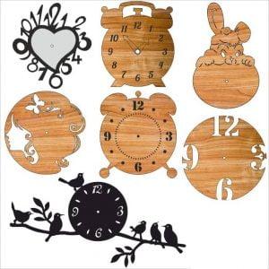 Набор декорированных часов