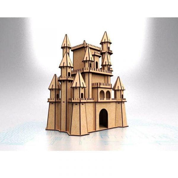 Диснеевский замок макет