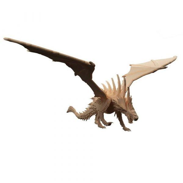 Макет дракона из фанеры
