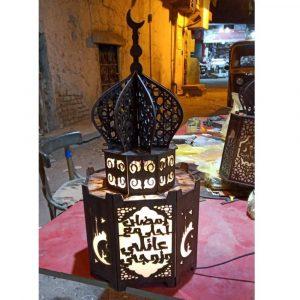 Фонарь мечеть макет