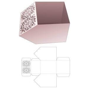 Коробка - чаша с фаской