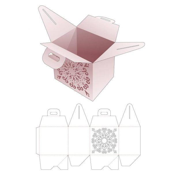 Коробка для еды и продуктов