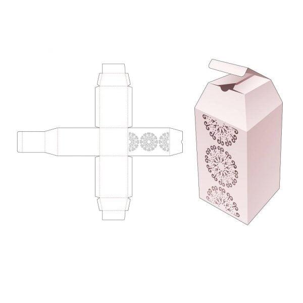 Коробка обелиск с верхними скосами