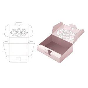 Коробка с наклоном